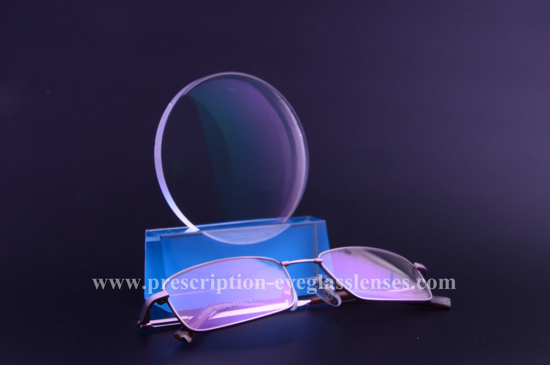 Computer Eyewear Glasses Anti Blue Ray Lens , 1.61 Blue Light And UV Protection Lens
